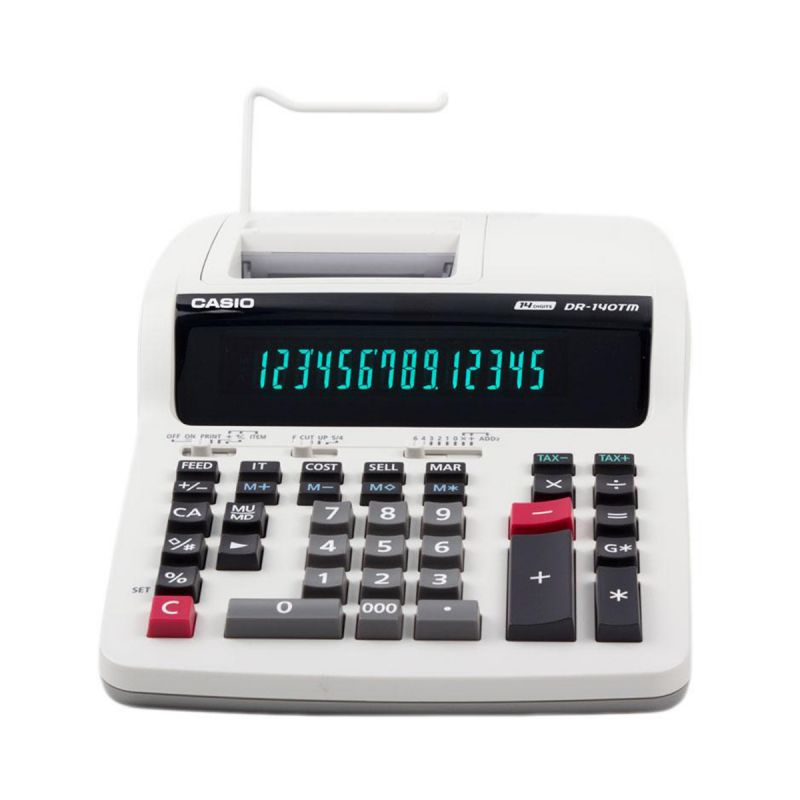 Machine A Calculer Imprimante CASIO avec Ruban