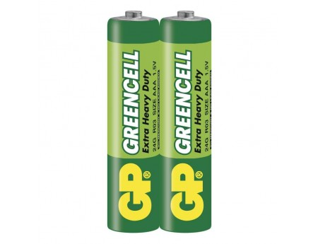 GP Greencell Carbon Zinc AAA BP2