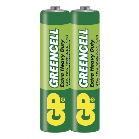 GP Greencell Carbon Zinc AAA BP2