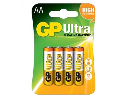 Pile GP Ultra Alkaline AA BP4