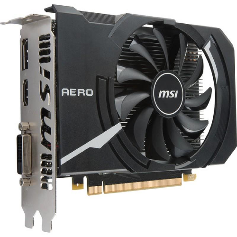 CARTE GRAPHIQUE MSI VGA GeForce GTX 1050 AERO ITX - 2G - OCV 1