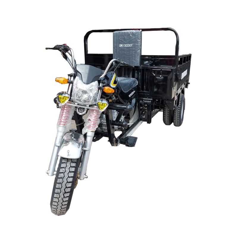 Tricycle de Uniscoot SP250ZH-A, Moteur 250CC Charge 705 Kg en Noir