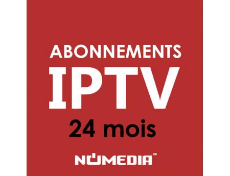 Abonnement IPTV de 24 Mois (Smart TV) Chez Numedia