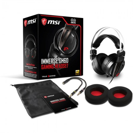Micro Casque GAMING MSI IMMERSE GH60