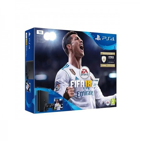 Playstation 4 1To Slim + Jeux FIFA 18