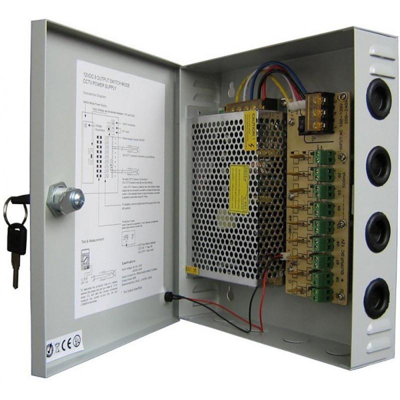 Boîtier d'alimentation AXXAM 12V 20A