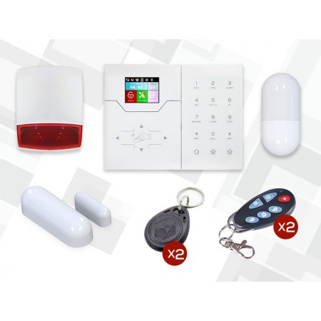 Kit d'alarme intrusion sans fil HA-VGT + MD327R 868Mhz