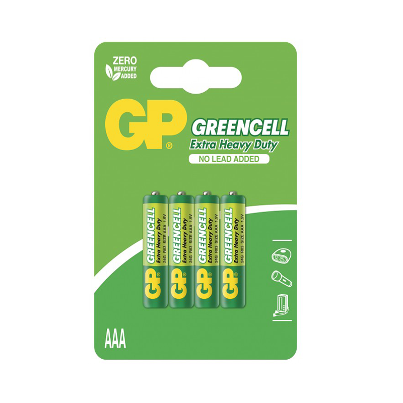 GP Greencell Carbon Zinc AAA bP4