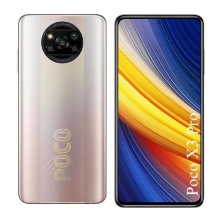 Xiaomi Poco X3 Pro, Smartphone Android milieu de gamme 128 Go, 6 Go Bronze
