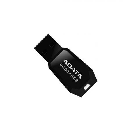 ADATA UV100, Clé USB de capacité 16Go en Noir
