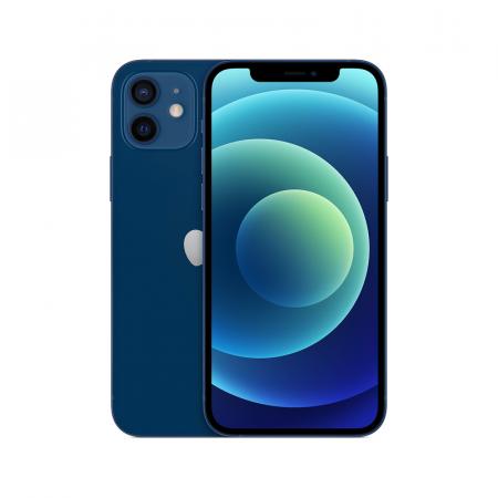 iPhone 12, Smartphone iOS haut de gamme 128 Go Bleu