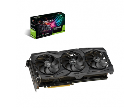 Asus, Carte graphique ROG Strix GeForce GTX 1660 Ti 6Go Gaming (90YV0CQ2-M0NA00)