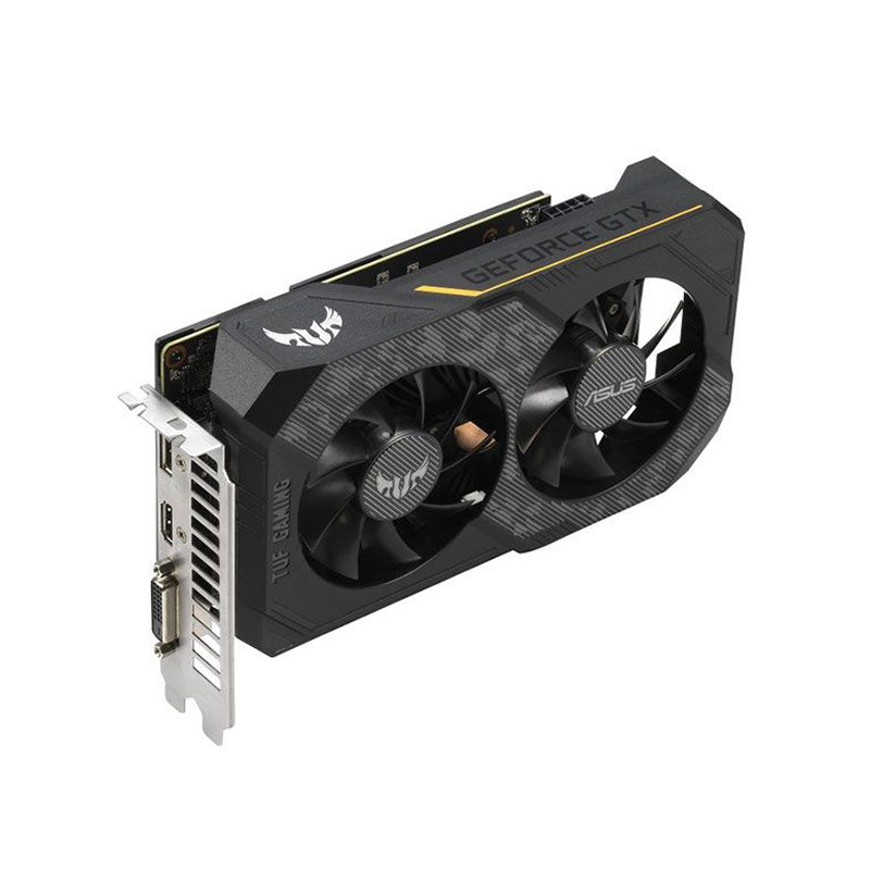 Asus, Carte graphique TUF GeForce GTX 1660 Ti 6Go OC (90YV0CT5-M0NA00)