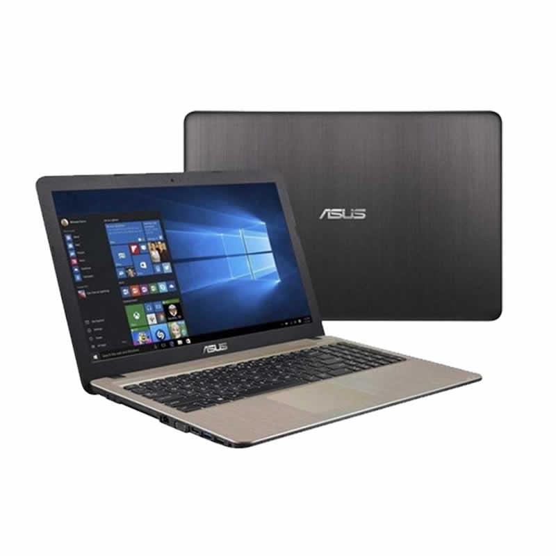 Asus X540BA, PC Portable Dual Core Ram 4Go DD 1To Win 10 Noir