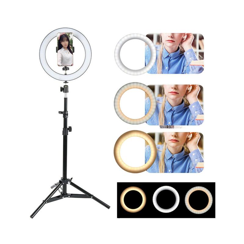 Ring Light 360° B-40 avec Trépied pour Smartphone