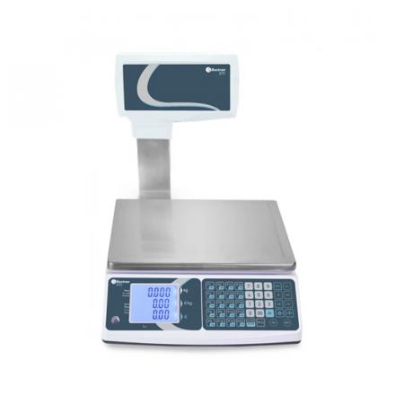 Balance électronique Baxtran 15/30 Kg Plateau Simple  avec Colonne