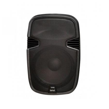 """Best Sound Valise 1507, Haut Parleur 15"""" LED Bluetooth avec Micro Sans Fil"""