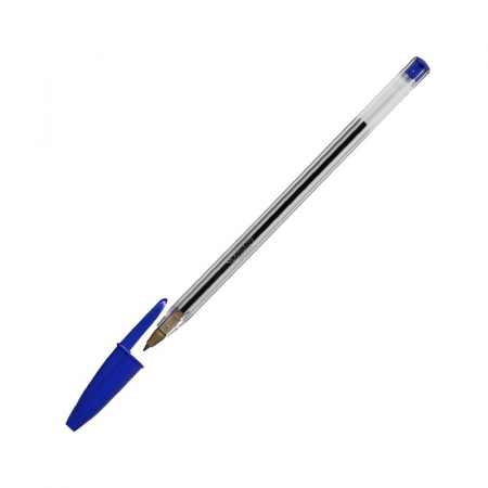 BIC, Stylo à bille Cristal Medium 1 mm Bleu