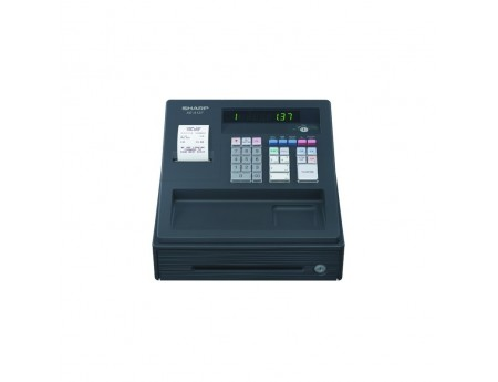 Caisse enregistreuse alpha numerique SHARP XE 137 BK