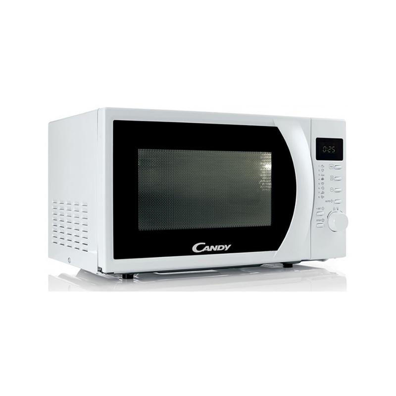 Candy CMW2070DW, Micro-Ondes 20 Litres 700 Watts avec Plateau rotatif Blanc