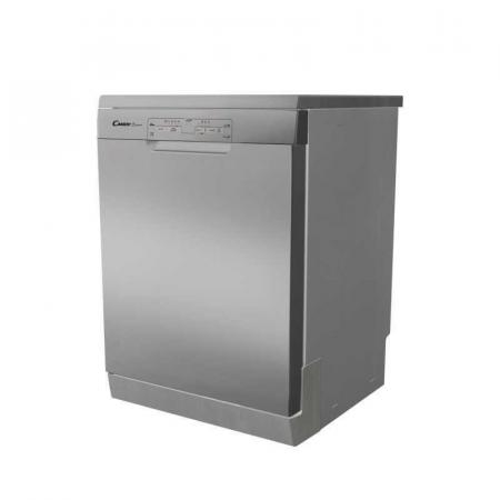 Candy CDPN1L390PX, Lave Vaisselle 13 Couverts à 5 Programmes Silver