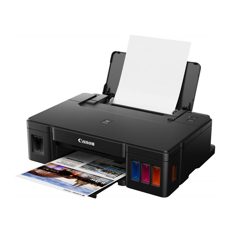 Canon PIXMA G-1411, Imprimante Jet D'encre A4 Monofonction Couleur à Réservoir Intégrée
