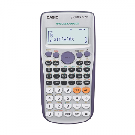 Casio FX-570ESPLUS, Calculatrice scientifique 417 en Gris