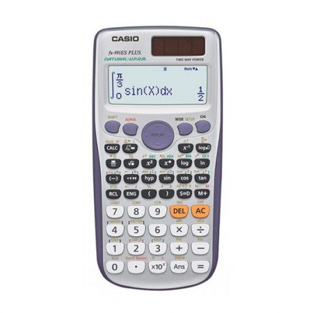 Casio FX-991ESPLUS, Calculatrice scientifique 417 fonctions 10 + 2 chiffres Silver