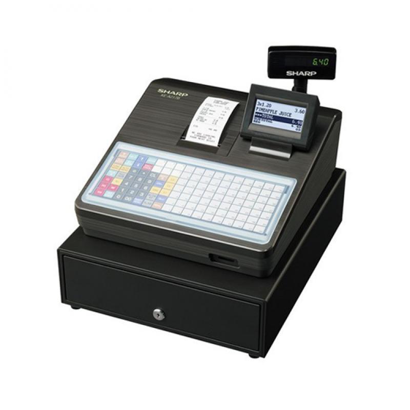 Sharp XE A217, Caisse enregistreuse alpha numérique à 119 touches
