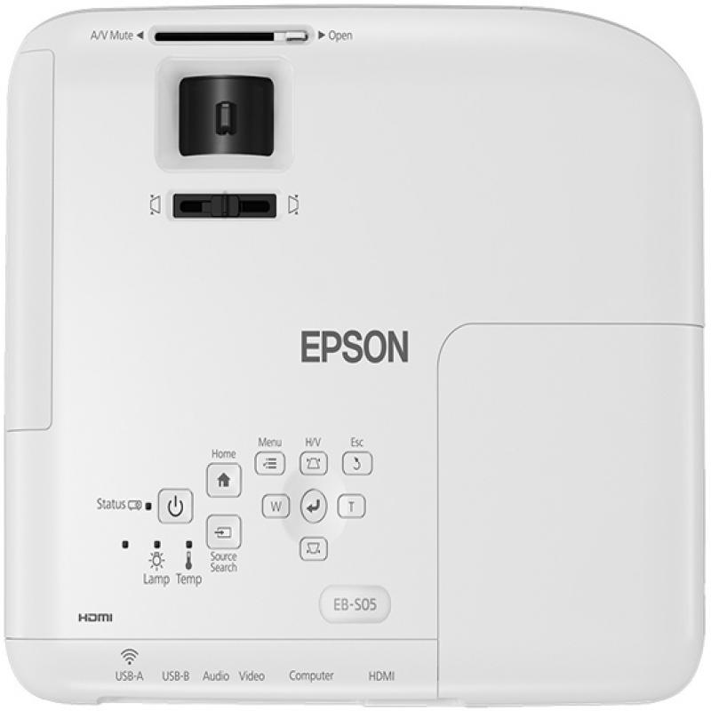 Epson EB-S05, Vidéoprojecteur SVGA 3200 lumens