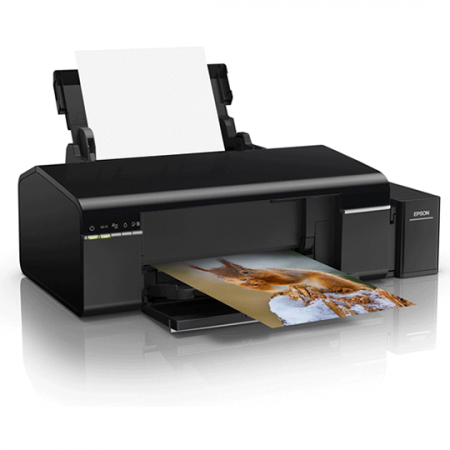 EPSON L805, Imprimante EcoTank Photo, CD/DVD, Couleur avec Wi-Fi