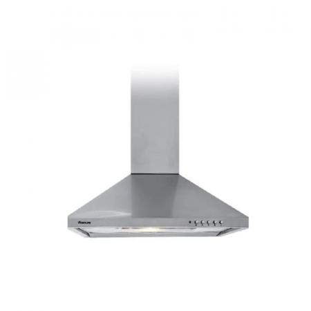 Focus F605X, Hotte Pyramidale Cheminée 60 cm à 2 filtres en Inox