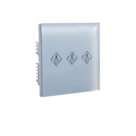 Focus PL-708R, Module de contrôle domotique  à 3 boutons tactile de 433Mhz