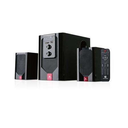 Gold Sound GS-205, Haut-parleur 45 Watts 2.1 avec télécommande