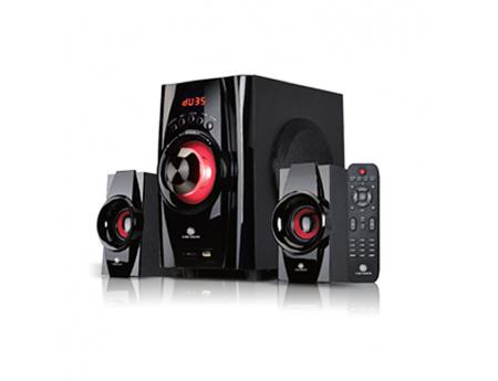 Gold Sound GS-2201, Haut-parleur 2.1, 40 Watts avec télécommande
