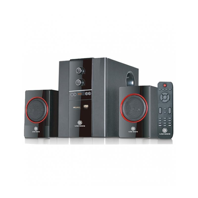 Gold Sound GS-320, Haut-parleur 49 watts 2.1 avec télécommande