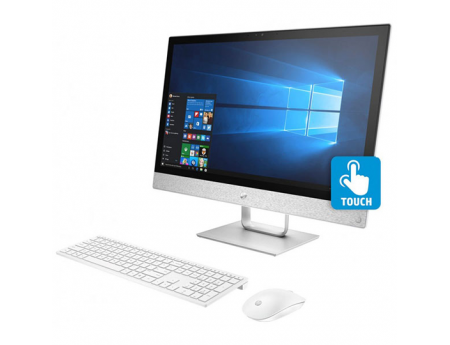 Hp 24-R102NK, Pc de bureau Pavilion All In One I7-8700T, Ram 8 Go, Stockage 1 To