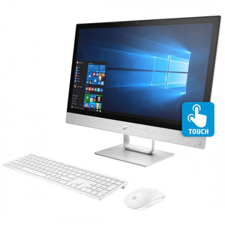 Hp 24-R103NK, Pc de bureau Pavilion All In One I7-8700T, Ram 8 Go, Stockage 1 To