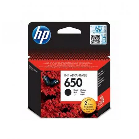 Cartouche d'encre HP 650 Noire Originale