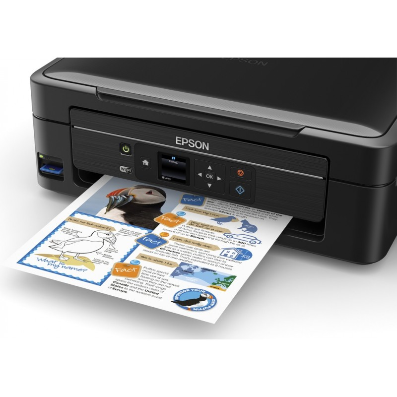 Imprimante Jet d'encre EPSON L486 3en1 Couleur - WiFi