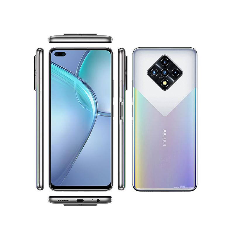 Infinix Zéro 8, Smartphone Android milieu de gamme 128 Go Silver