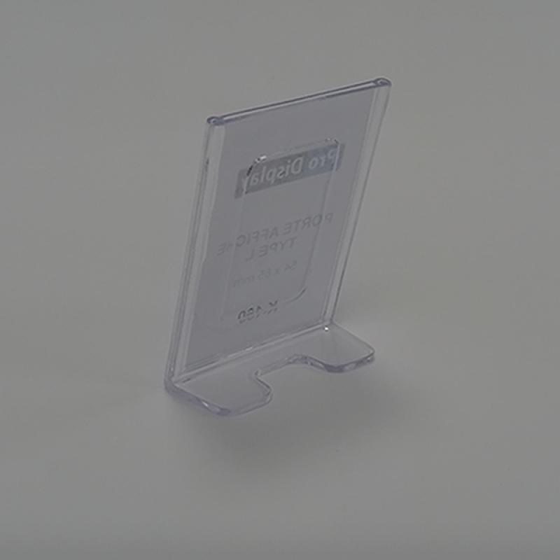Pro Display K-160, Porte Affiche Type L 54 x 85 mm transparent