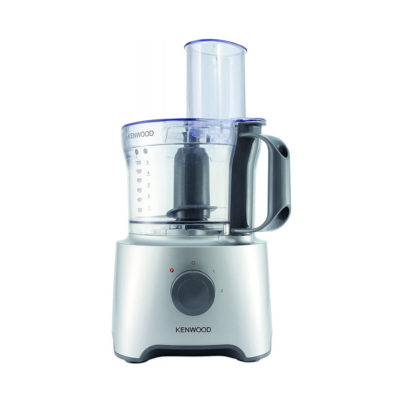 Kenwood FDP302SI, Robot Multifonction Compact 800 Watts 2.1Litres
