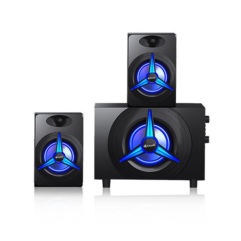 Kisonli TM7000, Haut parleur sans fil Bluetooth, Lecteur MP3, USB