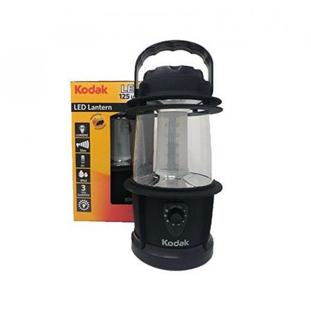 Torche Kodak LED Lanterne 125 lumens Étanche