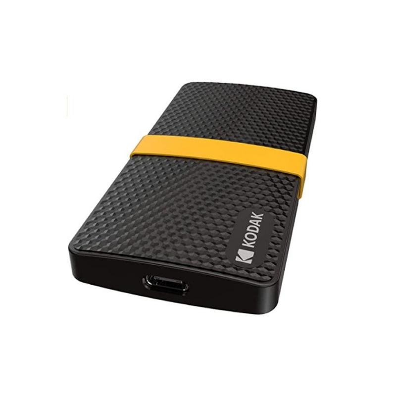 Disque dur SSD Portable de Kodak 256Go, X200 series 500 Mb/s