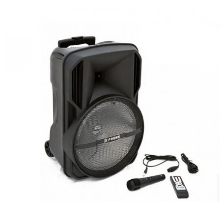 LT Power AL-1252, Haut parleur RechBluetooth Avec Télécommande et Micro