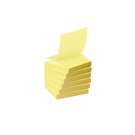 Mosaic SN-A3, Stick Notes jaune 100 Feuilles 76 x 76 mm