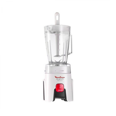 Moulinex Genuine LM240025, blender de 450 Watts capacité 1.5 L blanc