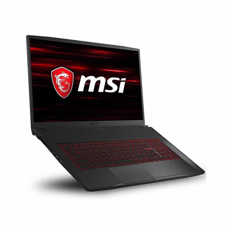 MSI GF75 Thin, Pc portable Gamer i7 10é Gén 8Go 512Go SSD NVIDIA GeForce GTX 1650Ti